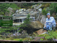 Seattle Webdesign - Kinssies Landscaping