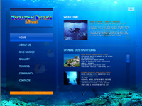 Seattle Webdesign - Yucatan Diving and Travel