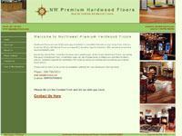 Seattle Webdesign - North West Hardwood Floors