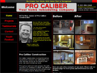 Seattle Webdesign - Pro Caliber Construction