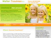 Seattle Webdesign - Trautman M.D.